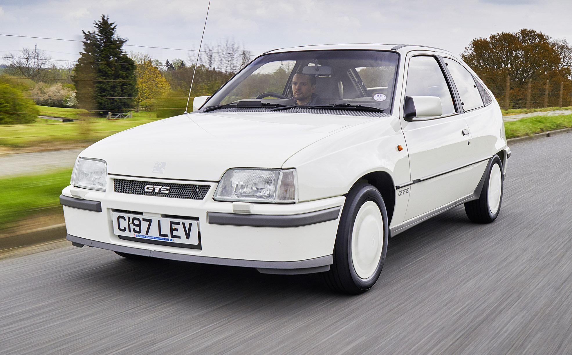 Rob Hall's first restoration project was a Granada MkII, which he completed in 2004 when he was just 17. Since then he has had a string of projects bearing the blue oval including a Fiesta Mk1 and various Granada MkIIs, but when offered this 51,000-mile Vauxhall Astra GTE that had slumbered in a garage for 20 years, he knew he couldn't pass it up. 'I'm an electronic engineer at a local audio company and, one day at work, was talking cars with my colleague Terry Bateman when he mentioned the Astra that had been slowly gathering dust in his garage. Terry had put the car away after he got a company car, but couldn't bear to part with it as it held special memories for him. It was the car in which he'd driven both his children home from hospital. Their first car ride.'  Knowing that Rob was into classics, Terry offered to give him the GTE if I promised to give it the restoration it deserved. The more he looked at it, the more he realised that what this car would require something really special…