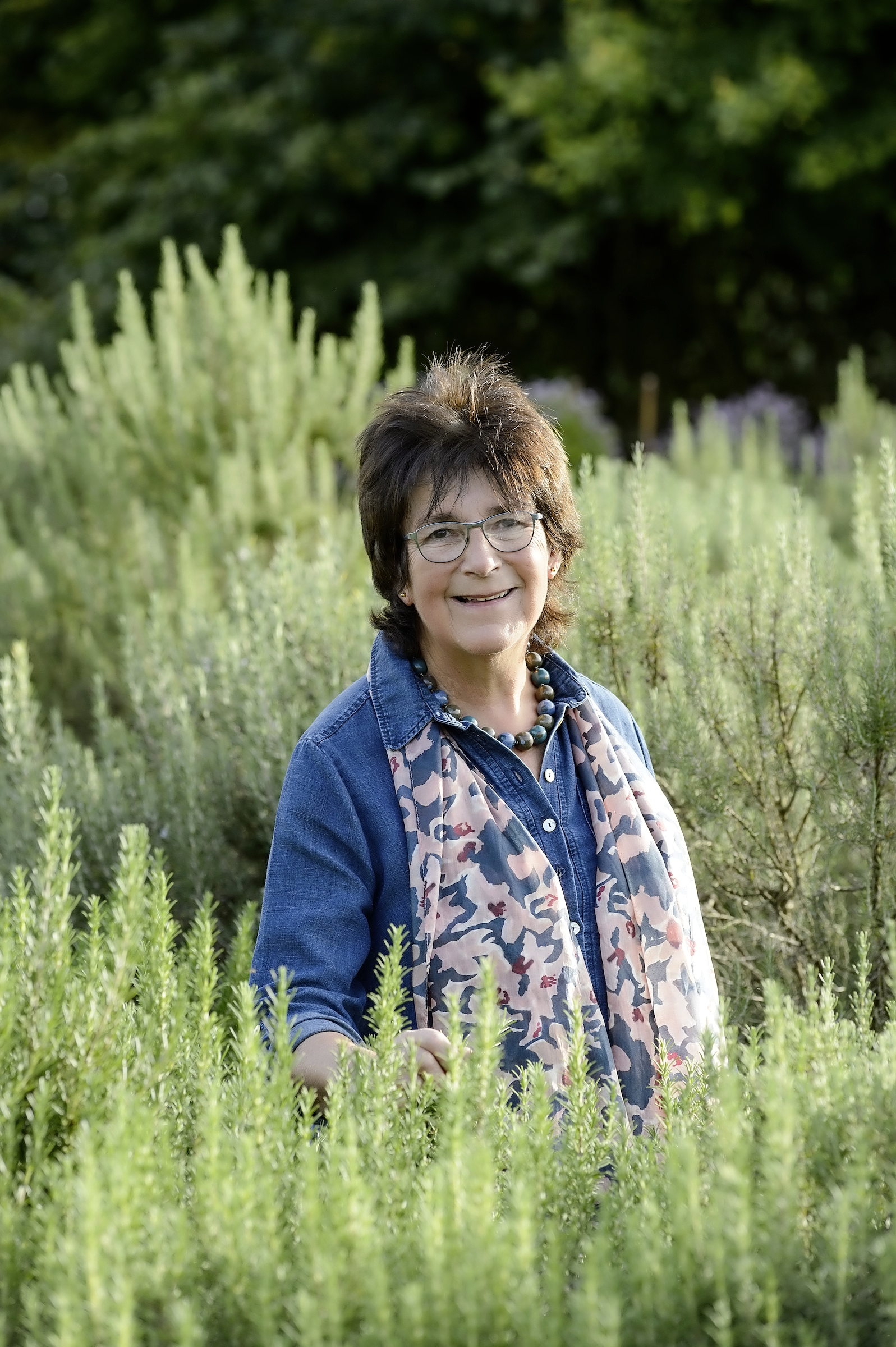 Renowned herb expert Jekka adores RHS Garden Rosemoor in Devon. Jekka's book,  A Pocketful Of Herbs , is released on March 5 by Bloomsbury.