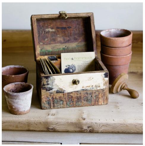 Seed storage box £24