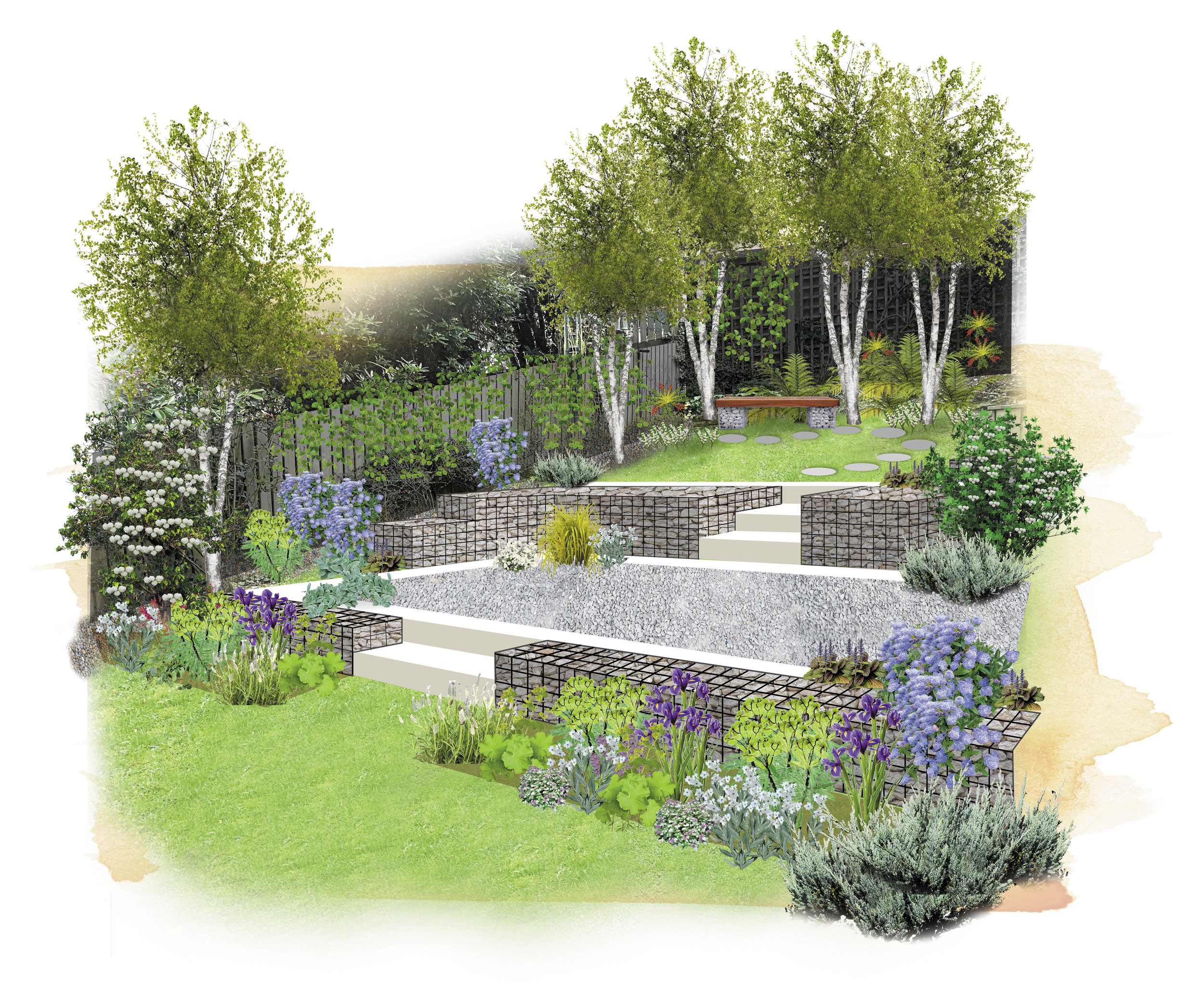 Q  How can I make the most of my sloping garden? — Garden
