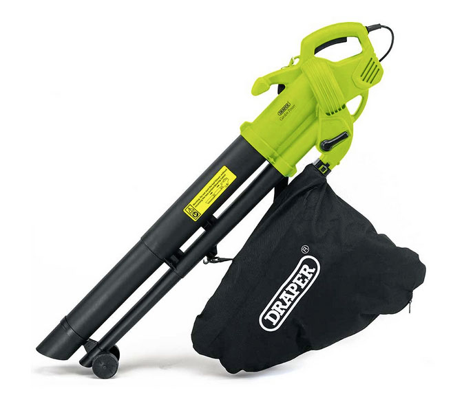 Draper 3000W 3in1 garden vacuum, leaf blower and mulcher £34.99 Robert Dyas 0800 707 6677; www.robertdyas.co.uk