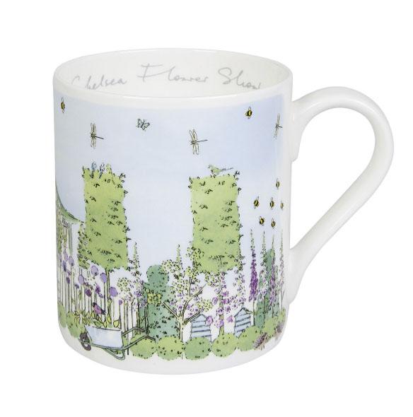 Chelsea Flower Show mug £11 Sophie Allport 01778 560 256; www.sophieallport.com