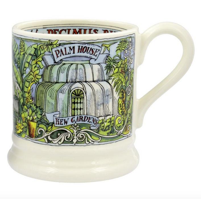Emma Bridgewater Kew Palmhouse mug £22.50 Kew Shop 0208 332 3123; www.kew.org