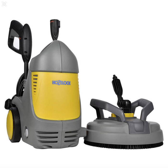 Hozelock Pic Power 140 Bar Pressue Washer with Patio Cleaner £179.99 Garden4Less 01283 543974; www.garden4less.co.uk