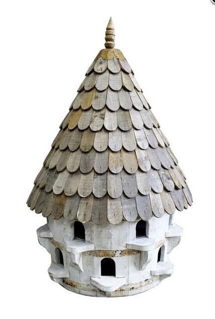 Large half round bird house (dovecote) £517 Wildlife World 01666 505333; www.wildlifeworld.co.uk