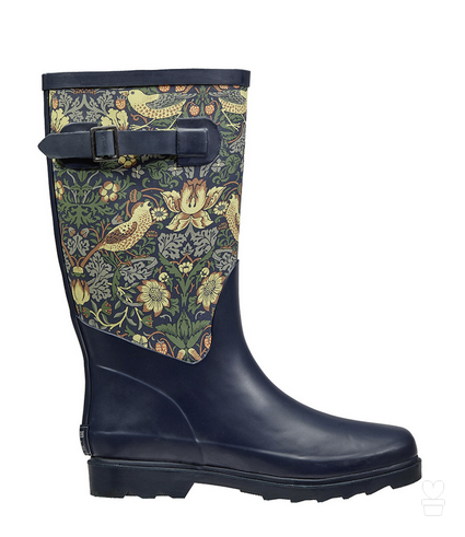 Strawberry Thief wellington boots £39.99 Crocus 01344 578 111; www.crocus.co.uk