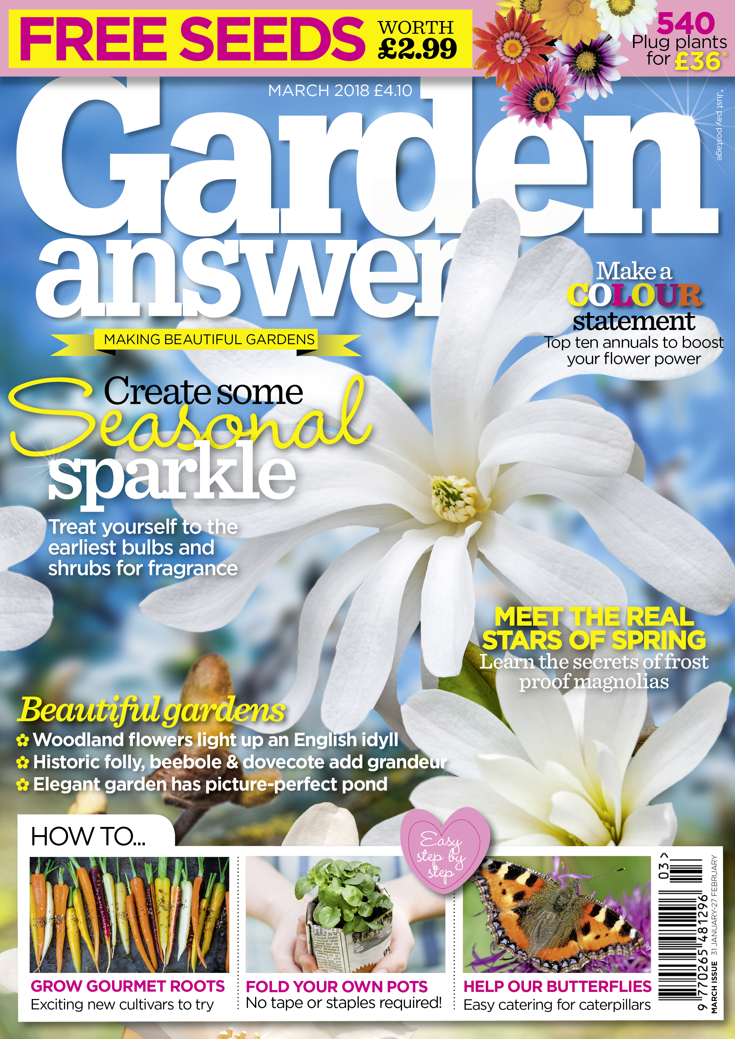 Garden Answers March cover