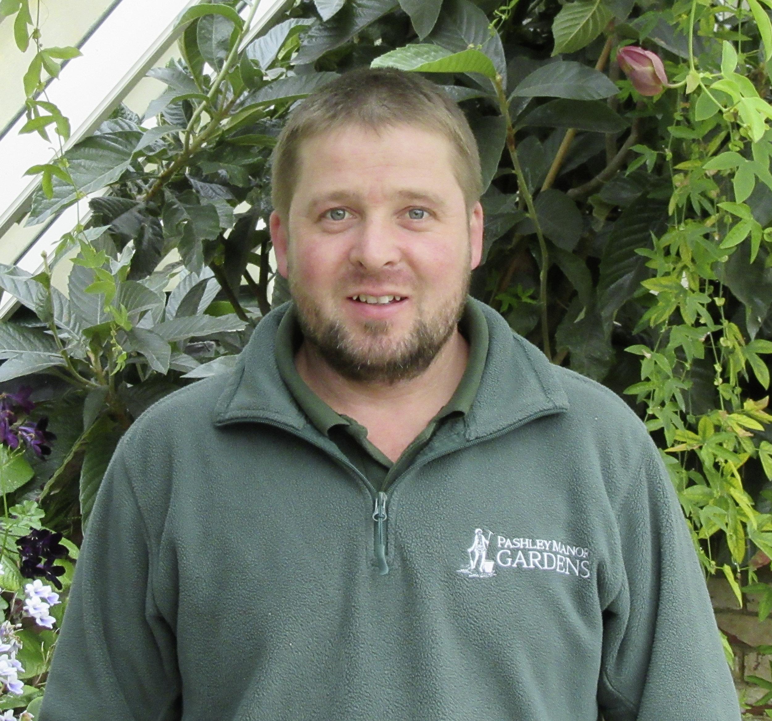 Keith Boylett, Head Gardener