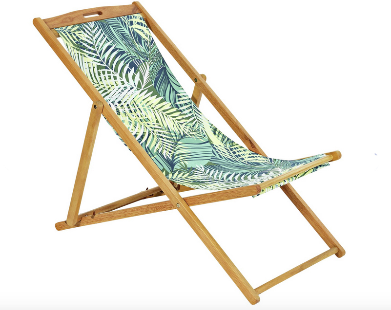 Home deck chair in Palm