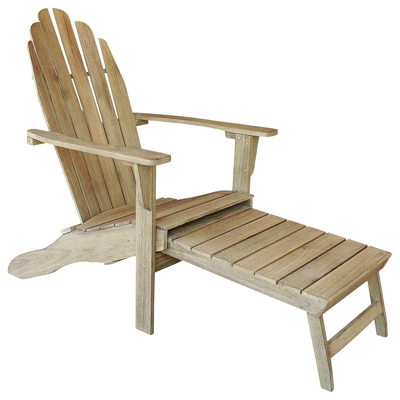 Hanoi Adirondack chair in acacia