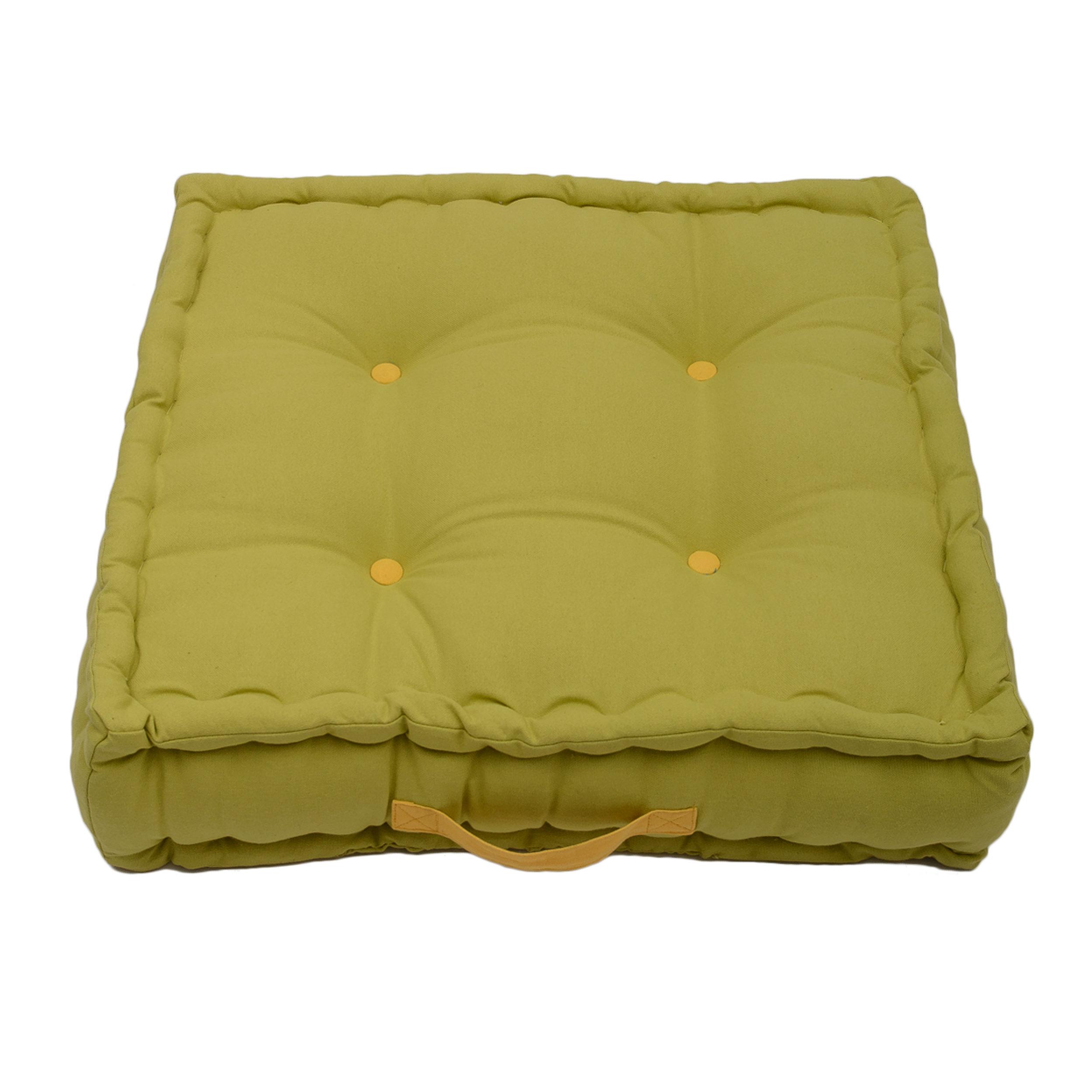 Jacky Lime Green Garden Box Cushion