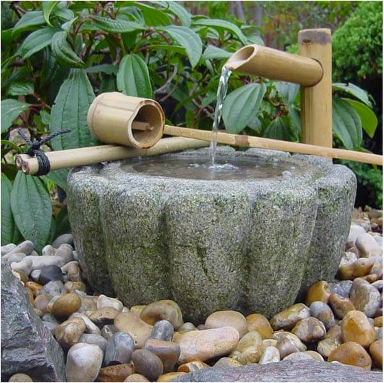 Bamboo water spout £25-35 Build a Japanese garden 01622 872403; www.buildajapanesegarden.com.jpg
