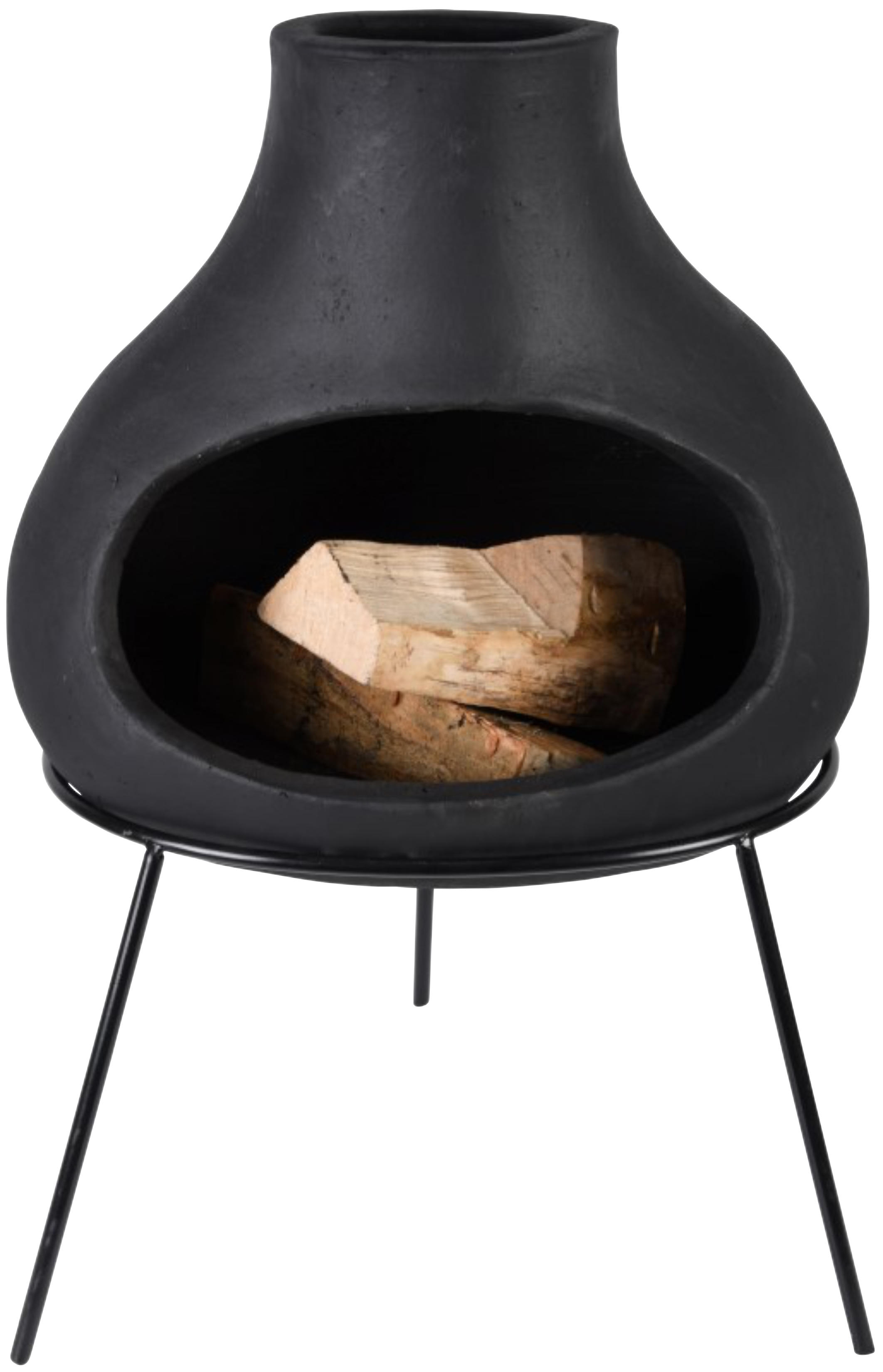 Black terracotta bulb heater