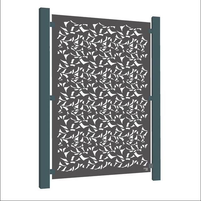 Weathering decorative aluminium screen