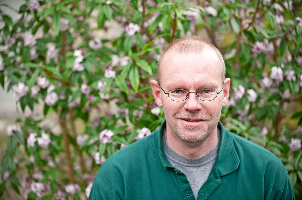Andy, Head Gardener at Borde Hill