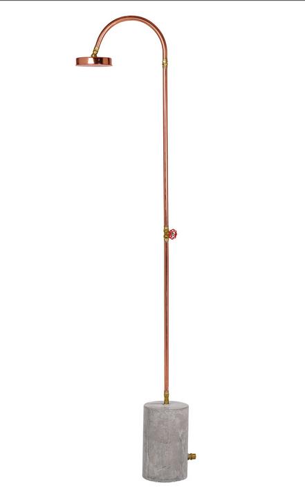 Aquart lux copper shower