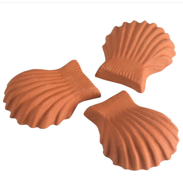 Shell pot feet