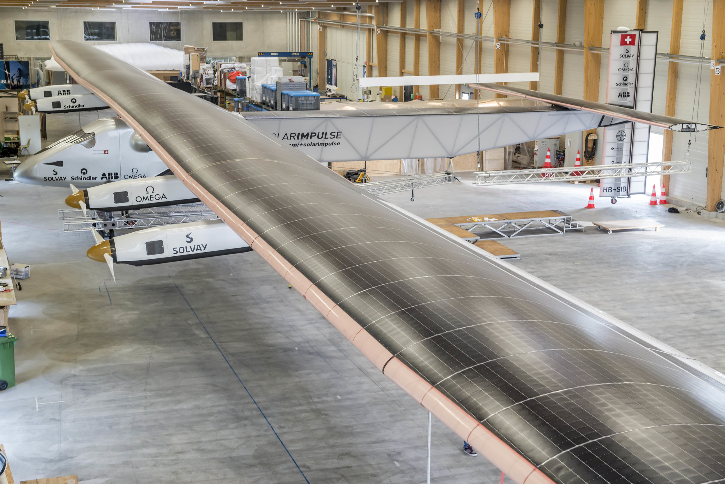 SOLAR IMPULSE 1 & 2: TRUSS STRUCTURE TUBES