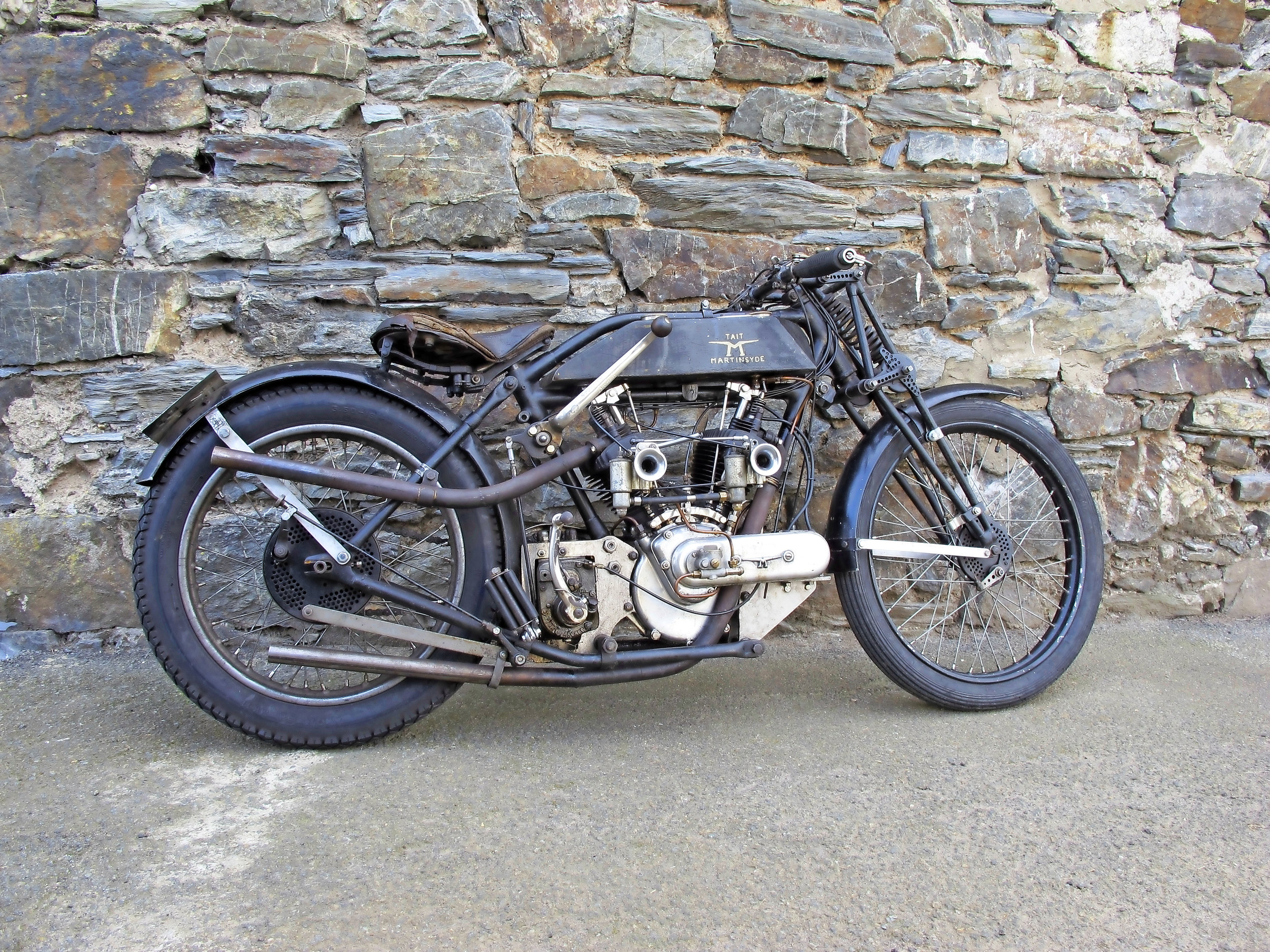 Twin carbs and on the Island… but more work ahead on the Martinsyde
