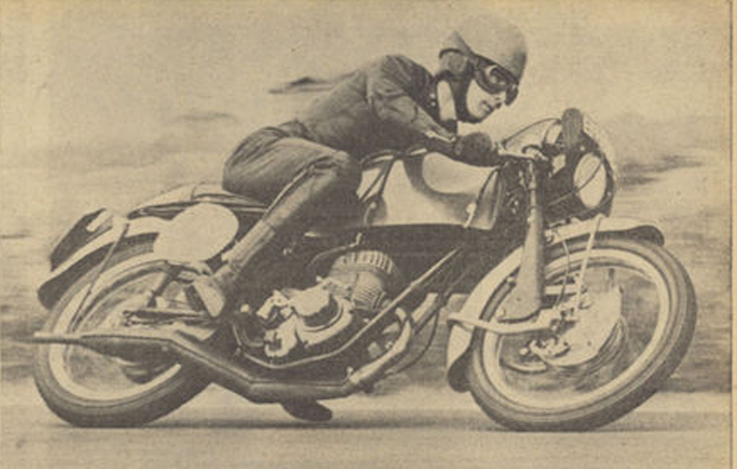 Sean Wood tests the Conquest for MCN in 1966