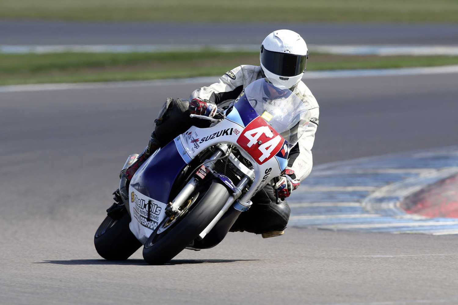 George Hogton-Rustling, a 24-year-old rider who's one of the many flocking to classic racing