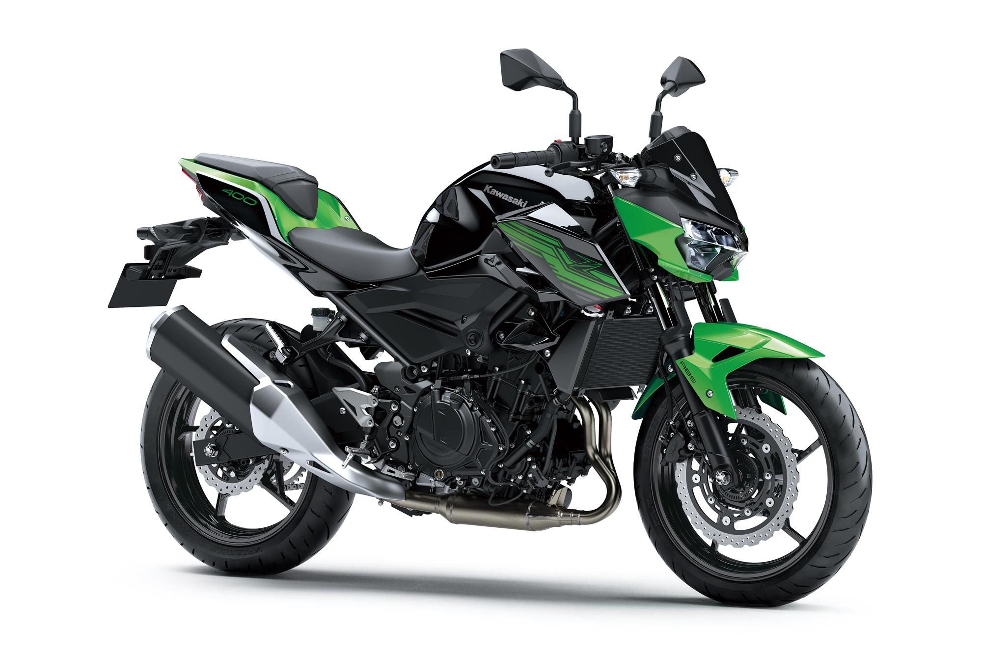 Win a Kawasaki Z400 motorcycle