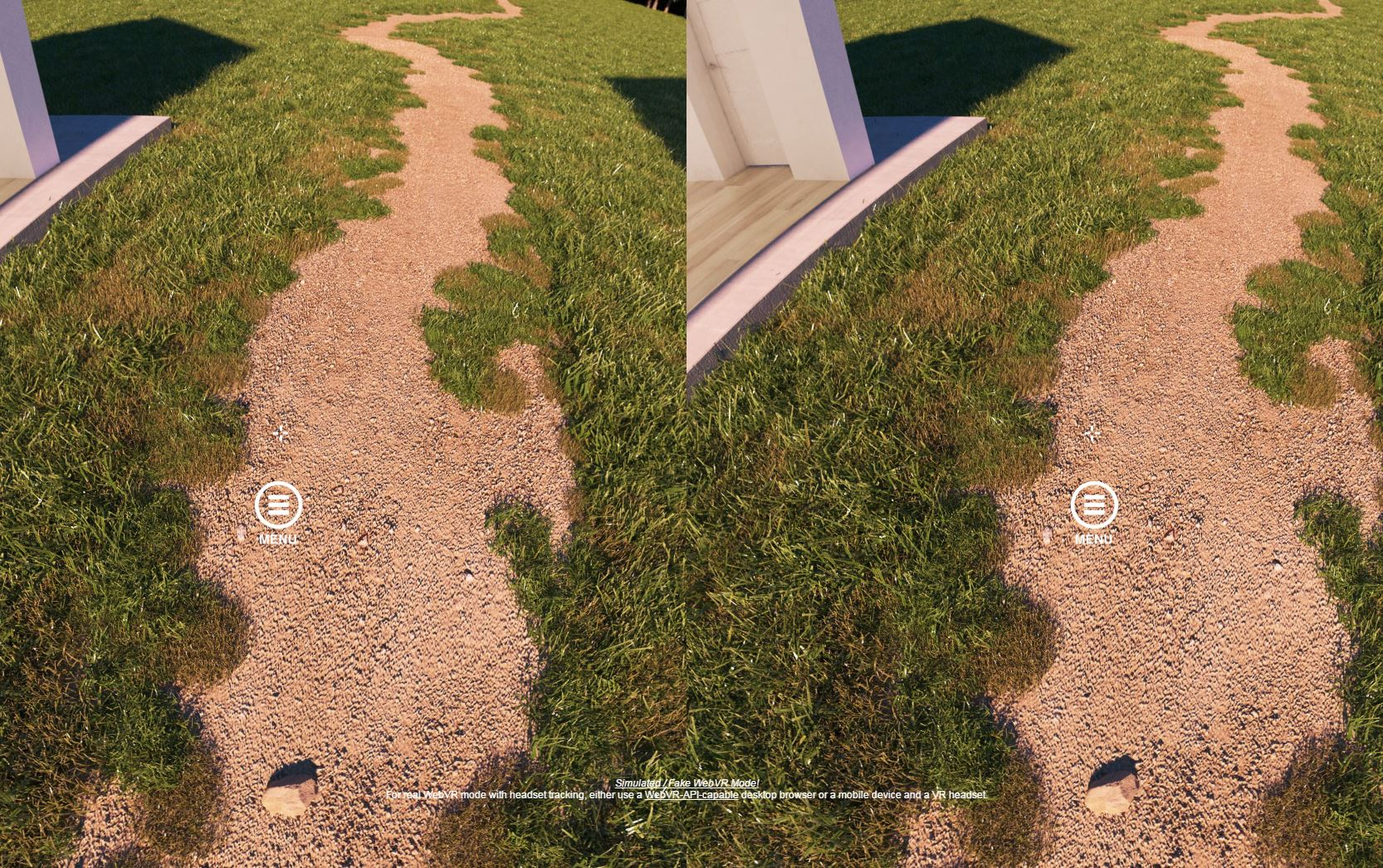 3D View: Place cross on top of icon and focus for a few seconds