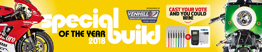 Vote for the Practical Sportsbikes Special Build of the Year sponsored by Venhill