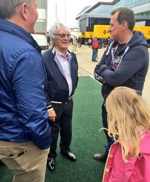 John McGuinness meets Bernie Ecclestone