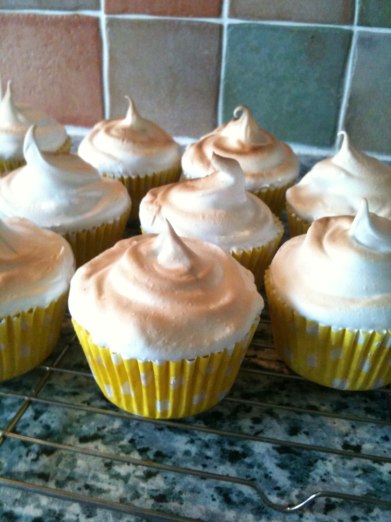 Abigall Brewster's lemon meringue cupcakes