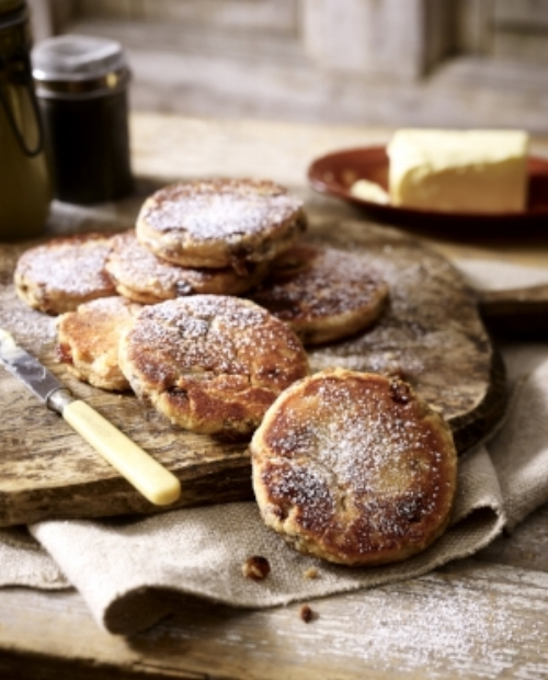Welsh cakes recipe LandScape magazine Mar/Apr17