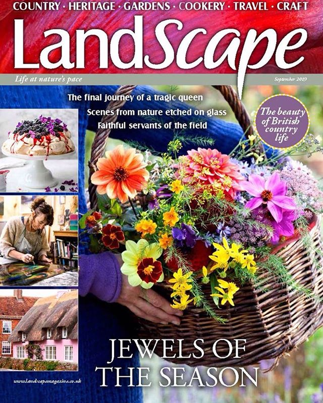 The new issue of LandScape is in newsagents now, with travel from the rolling heartland of Dorset, land of a legendary giant and literary greats, recipes that utilise the bounty of the hedgerow to create berry-filled bakes, a shaded garden packed with lush plants, the majestic Suffolk Punch, inspirational garden ideas, makes and much more... 🌸 Copies can be bought online here 👉 https://www.greatmagazines.co.uk/landscape-magazine