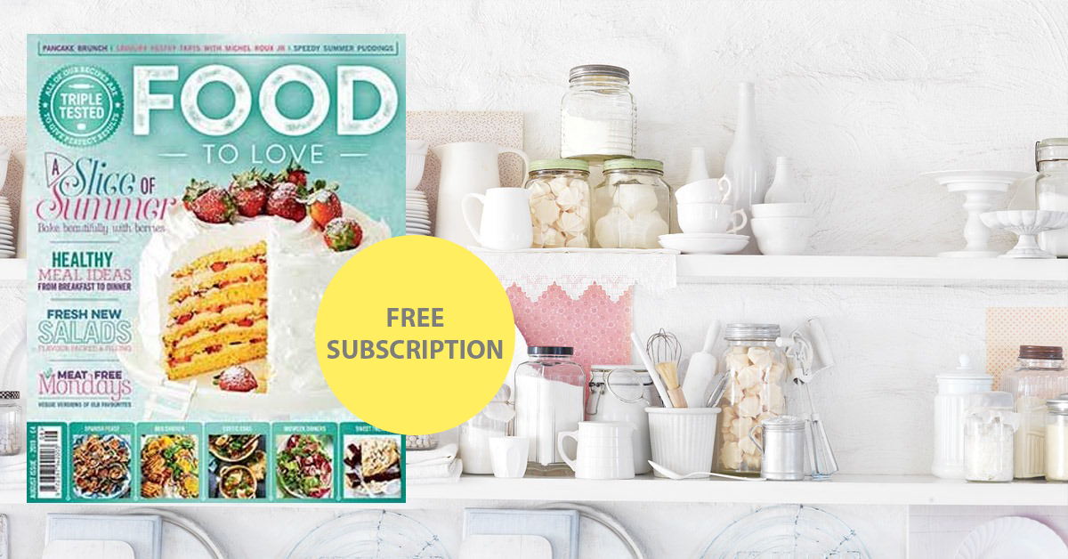 6 month Food to Love Subscription