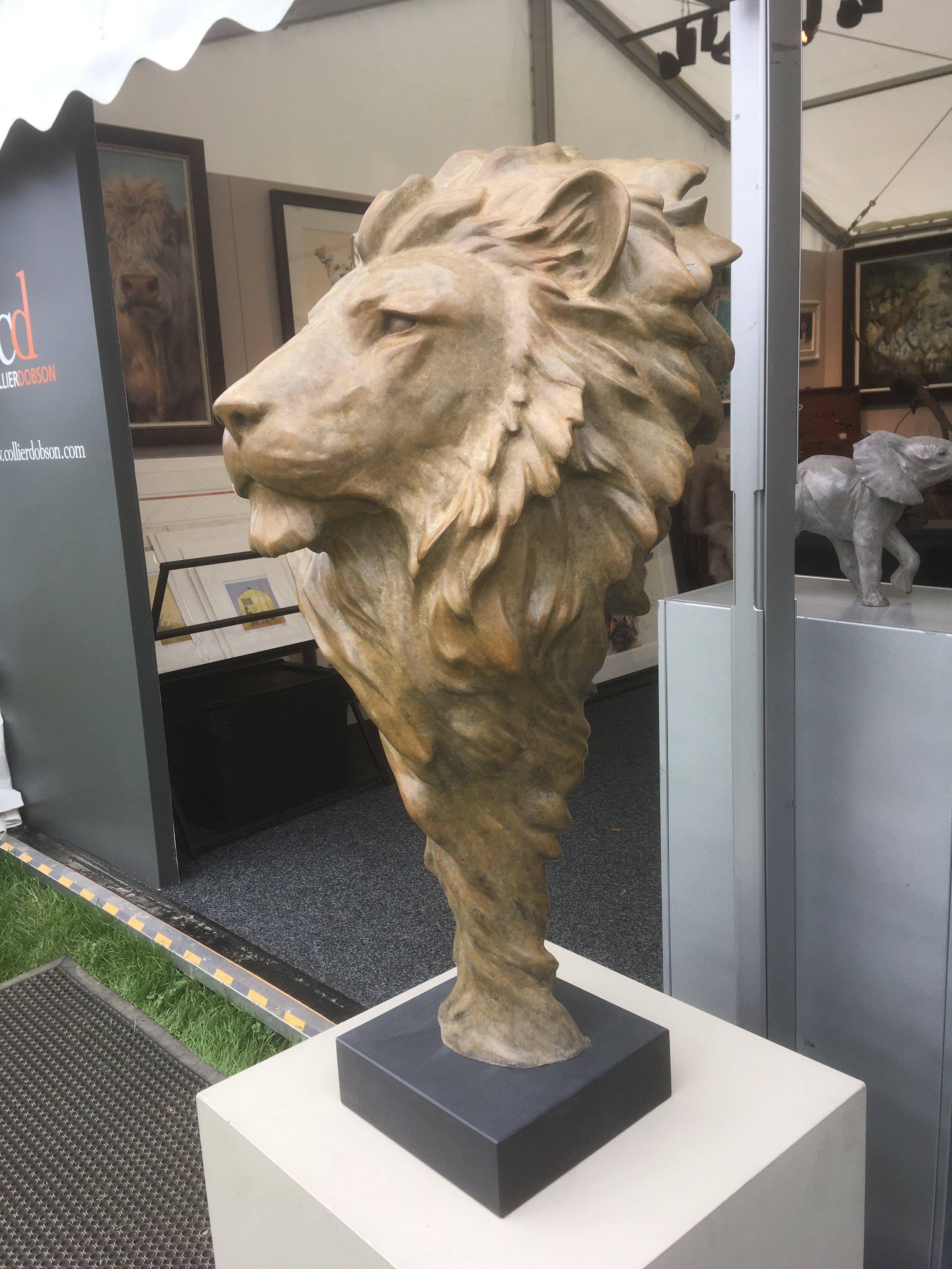 Life Size Lion Mask