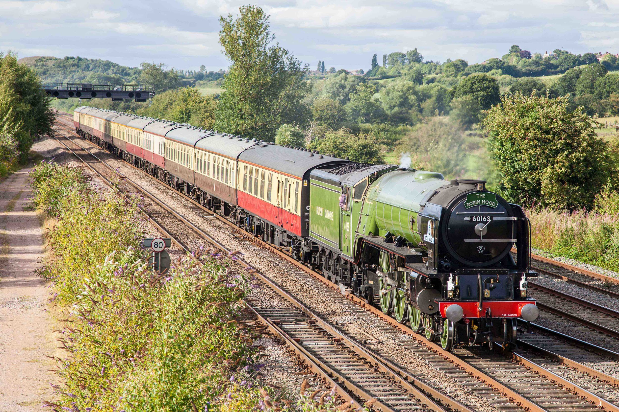 'A1' No. 60163  Tornado will be the locomotive taking charge of next month's S&C 'Plandampf'. STEVE DONALD