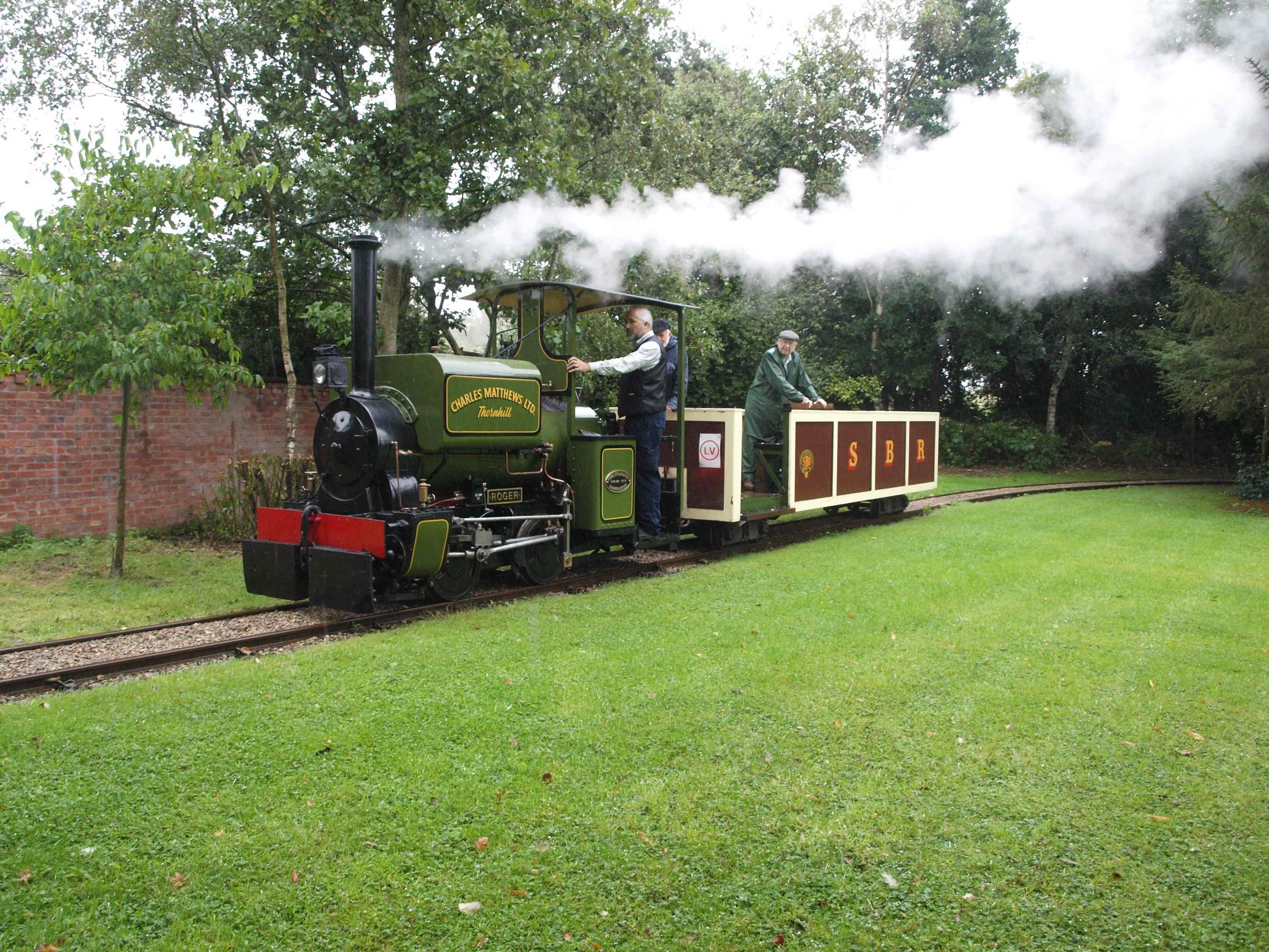 One of the pair of recently announced Kerr Stuart Wrens is No. 3128 'Roger', normally based at the Statfold Barn Railway. MRT