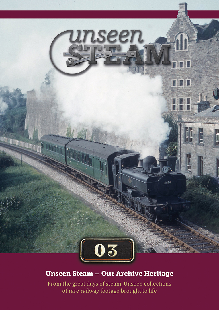Unseen Steam's 'Our Archive Heritage' Volume 3 is OUT NOW!
