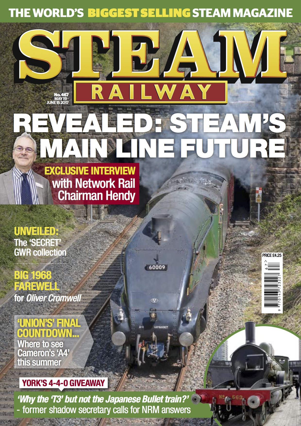 Steam Railway  SR467 - on sale NOW!