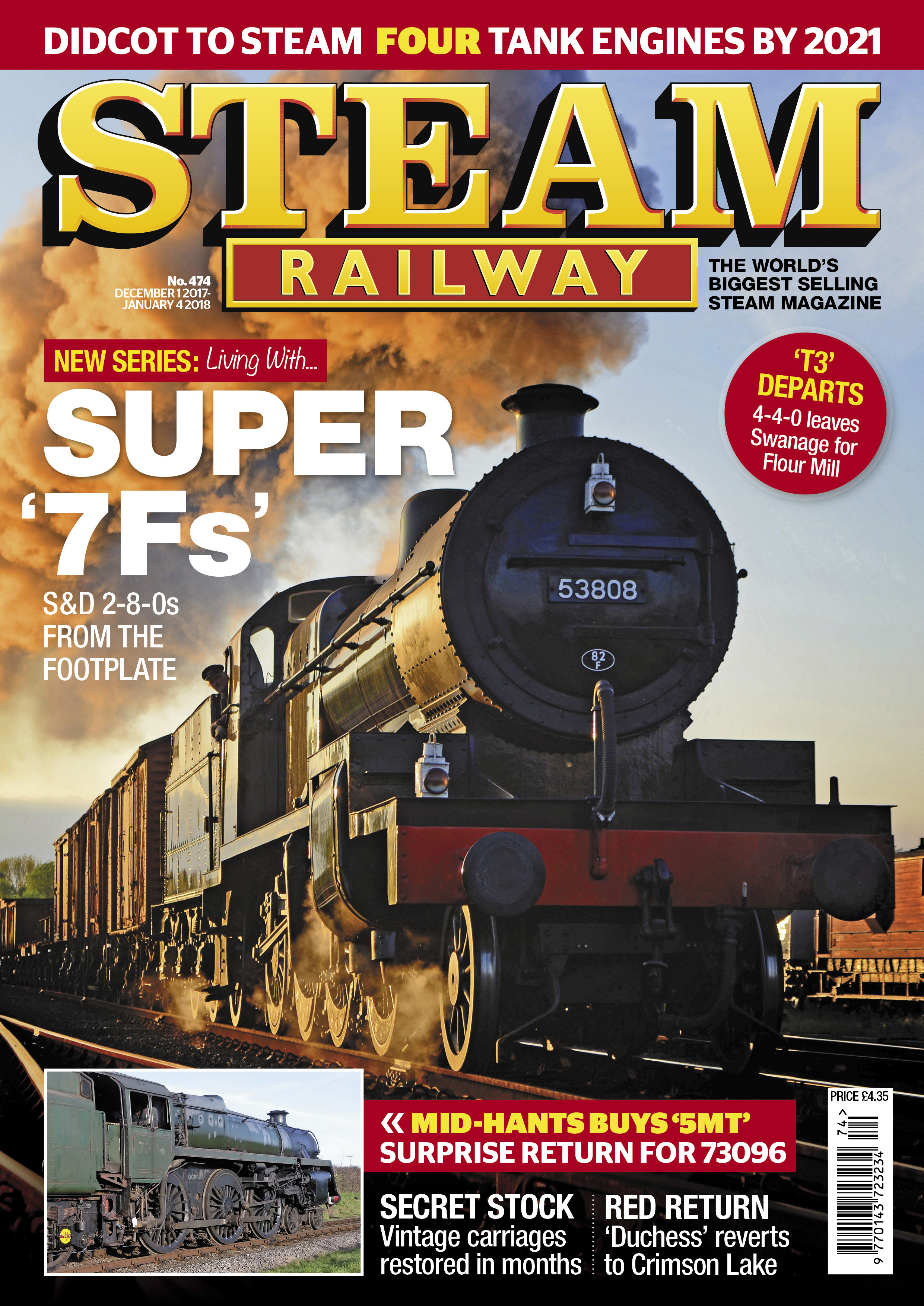 Steam Railway  SR474 - On Sale Now!