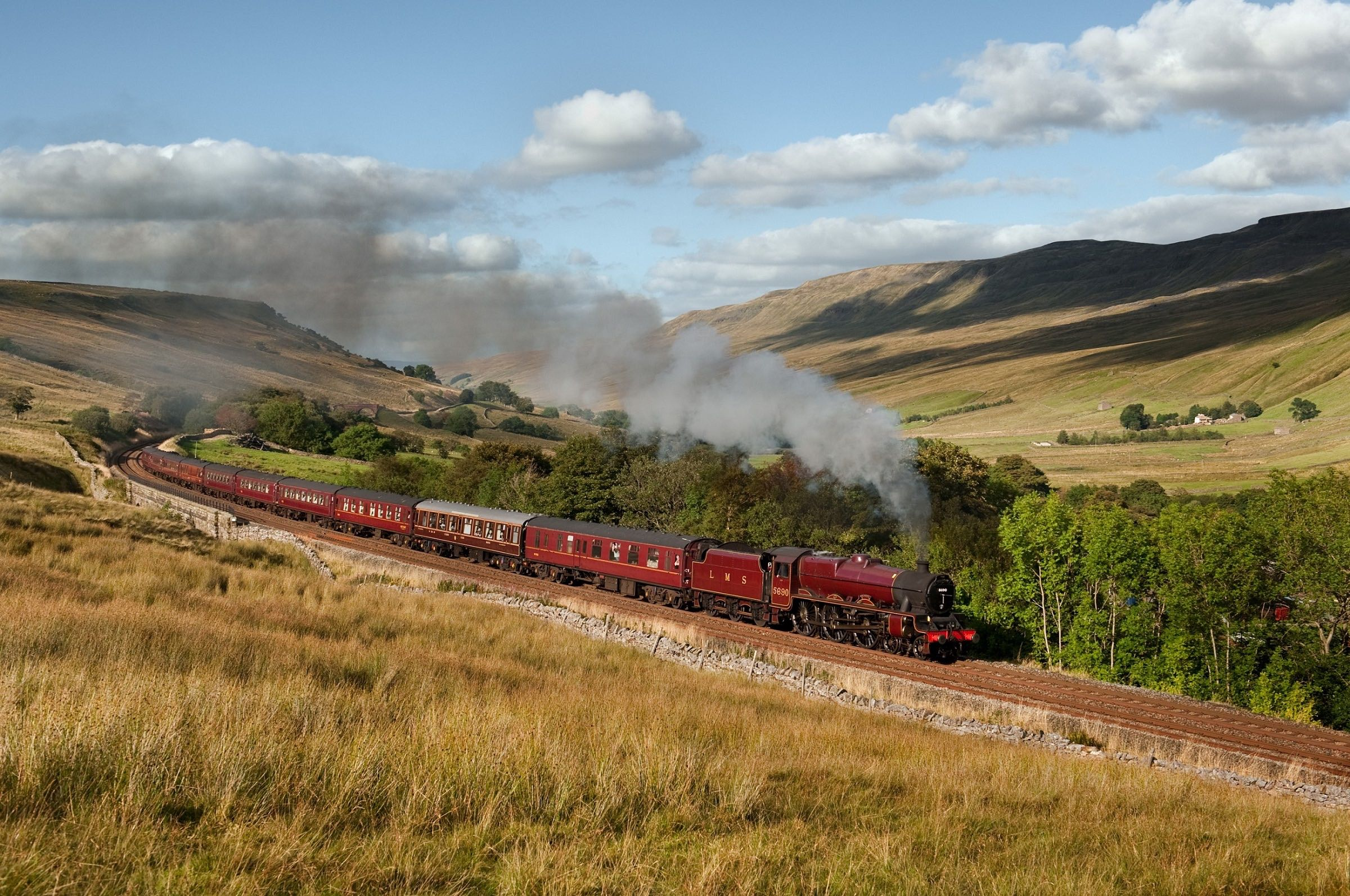 The Railway Touring Company is running two steam specials to mark 50 years since the end of BR steam passenger services. DEREK PHILLIPS