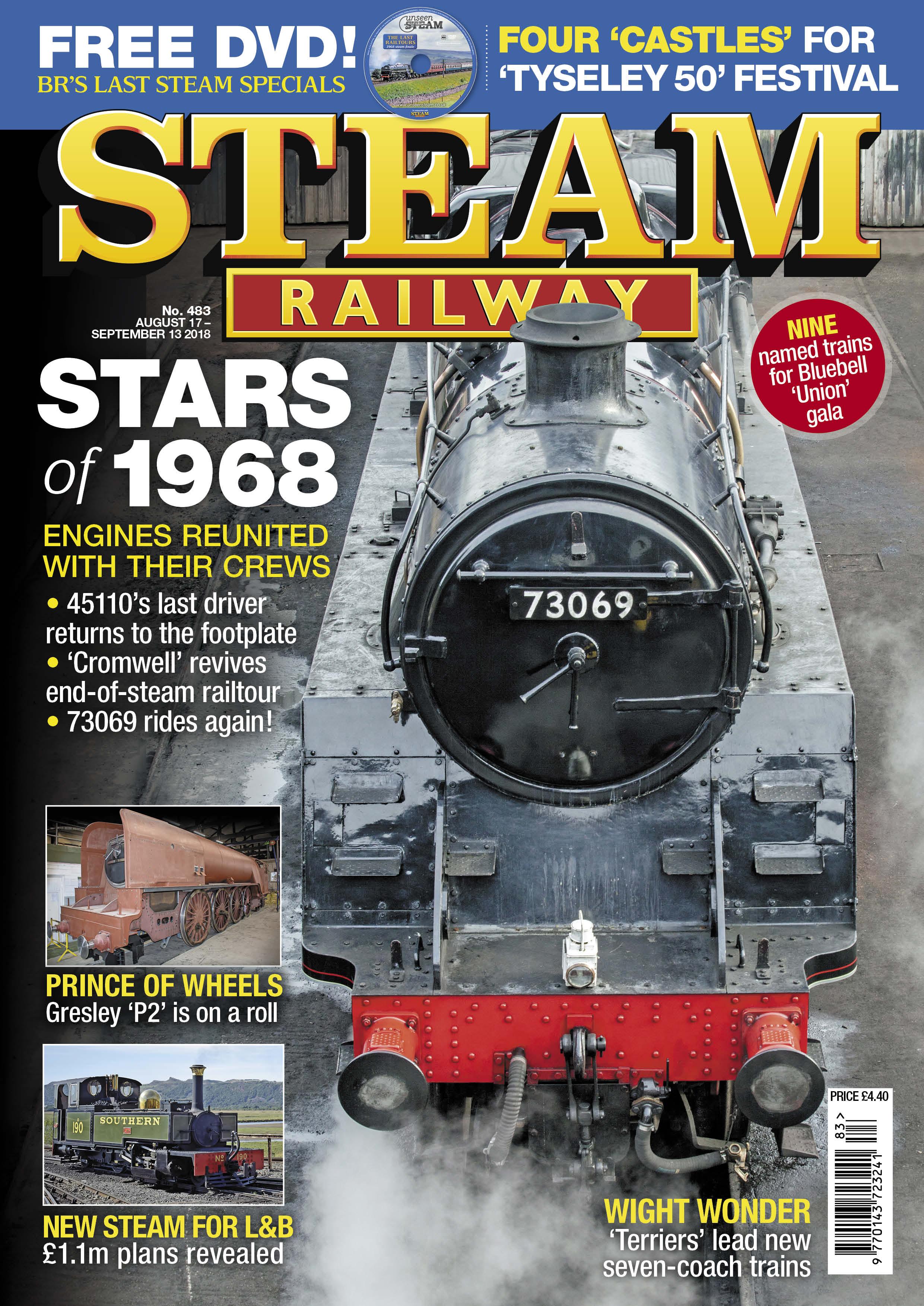 Steam Railway  SR483 - on sale NOW!