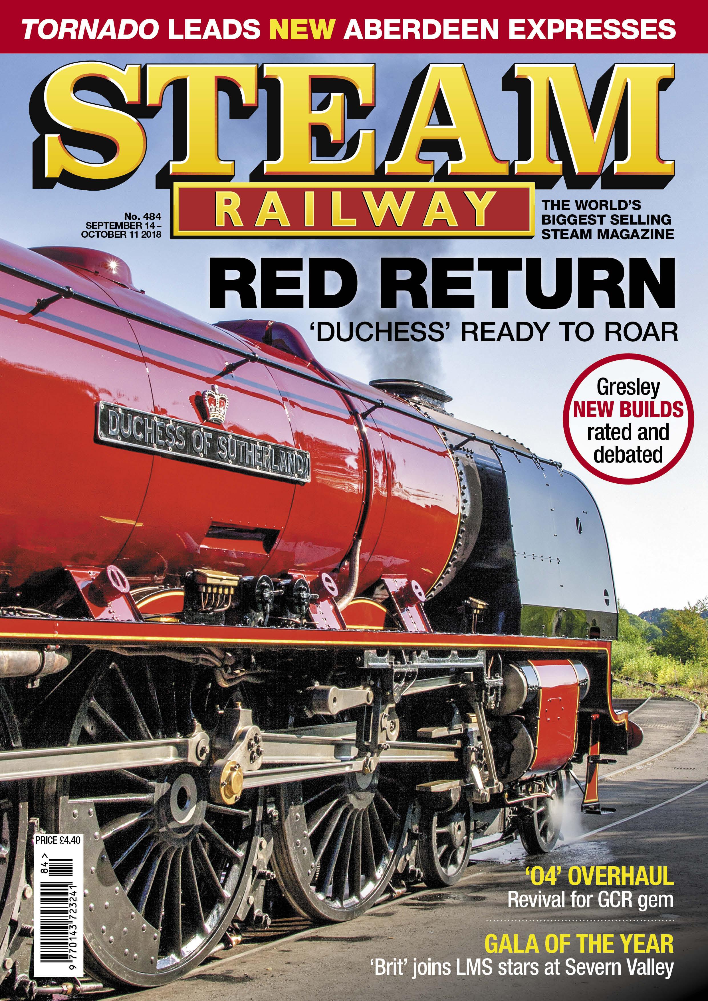 Steam Railway  SR484 - on sale now!