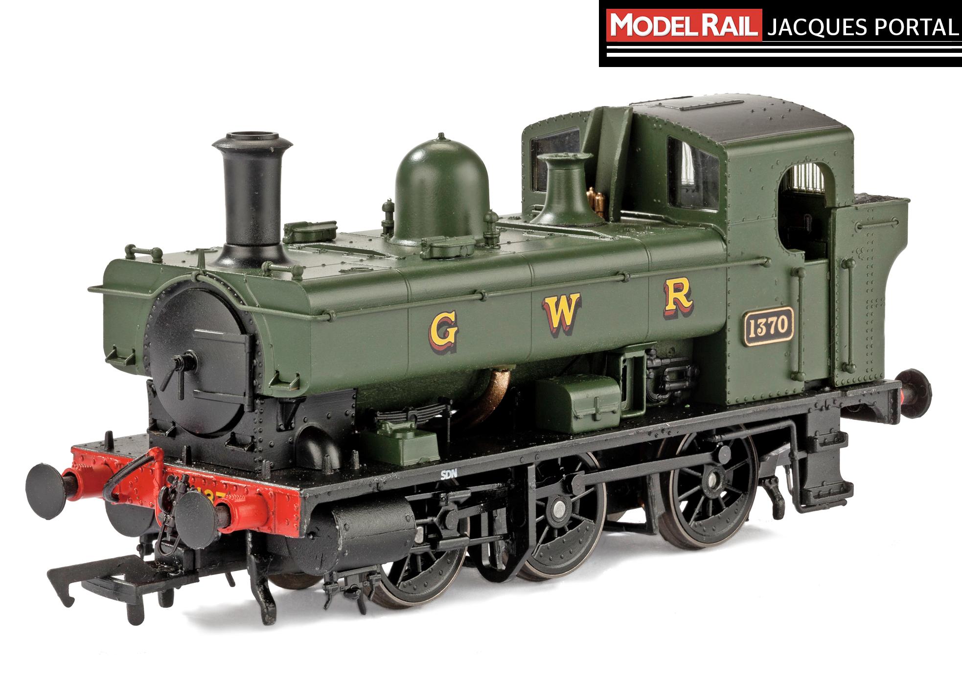 Heljan's GWR '1366' 0-6-0PT No. 1370. JACQUES PORTAL