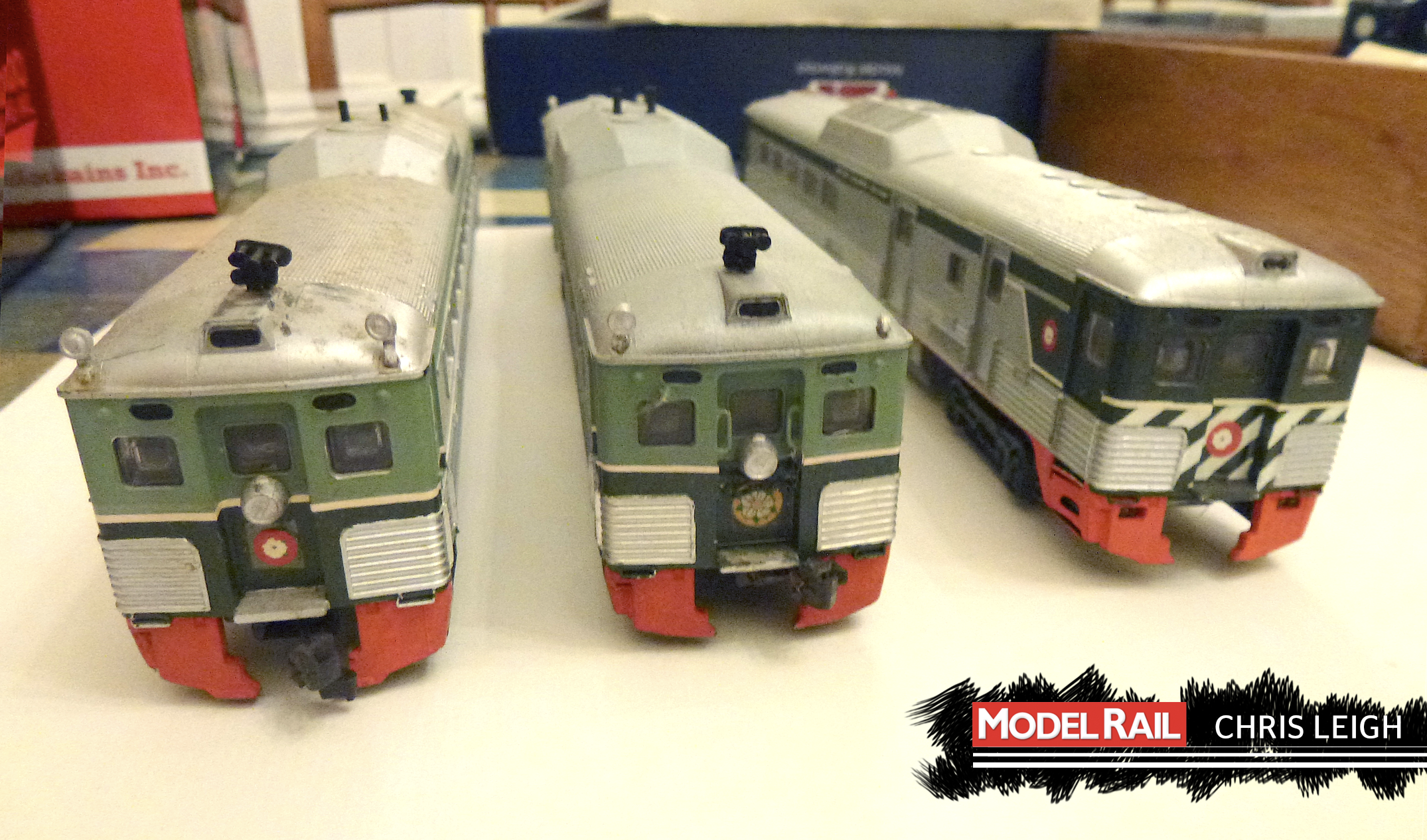 Will anyone snap up Chris Athearn RDCs, or are they destined for the bin? CHRIS LEIGH