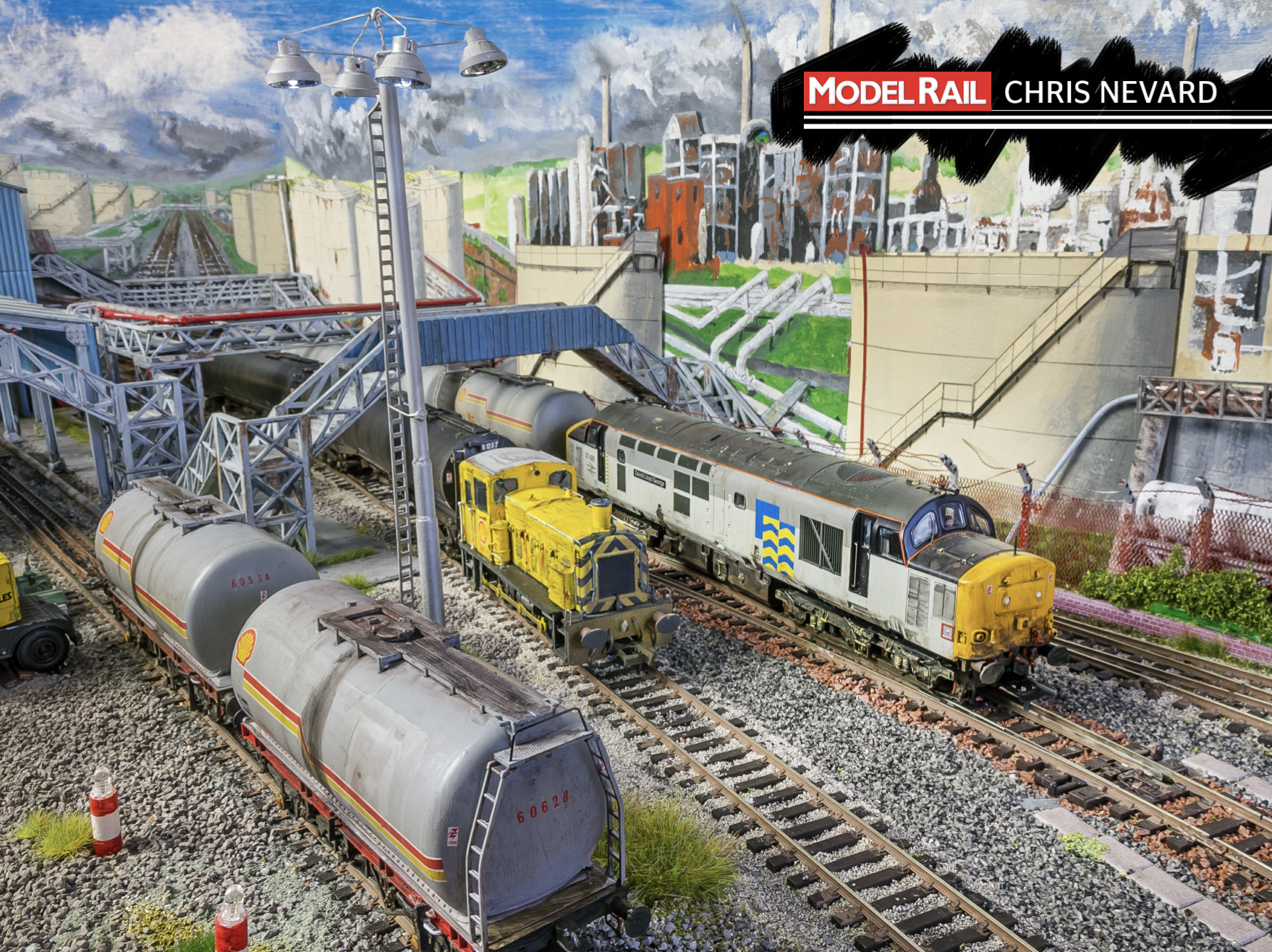 Roy's hand painted backscene might just be 'Shell Haven's' standout feature, and makes for a very distinctive look. CHRIS NEVARD