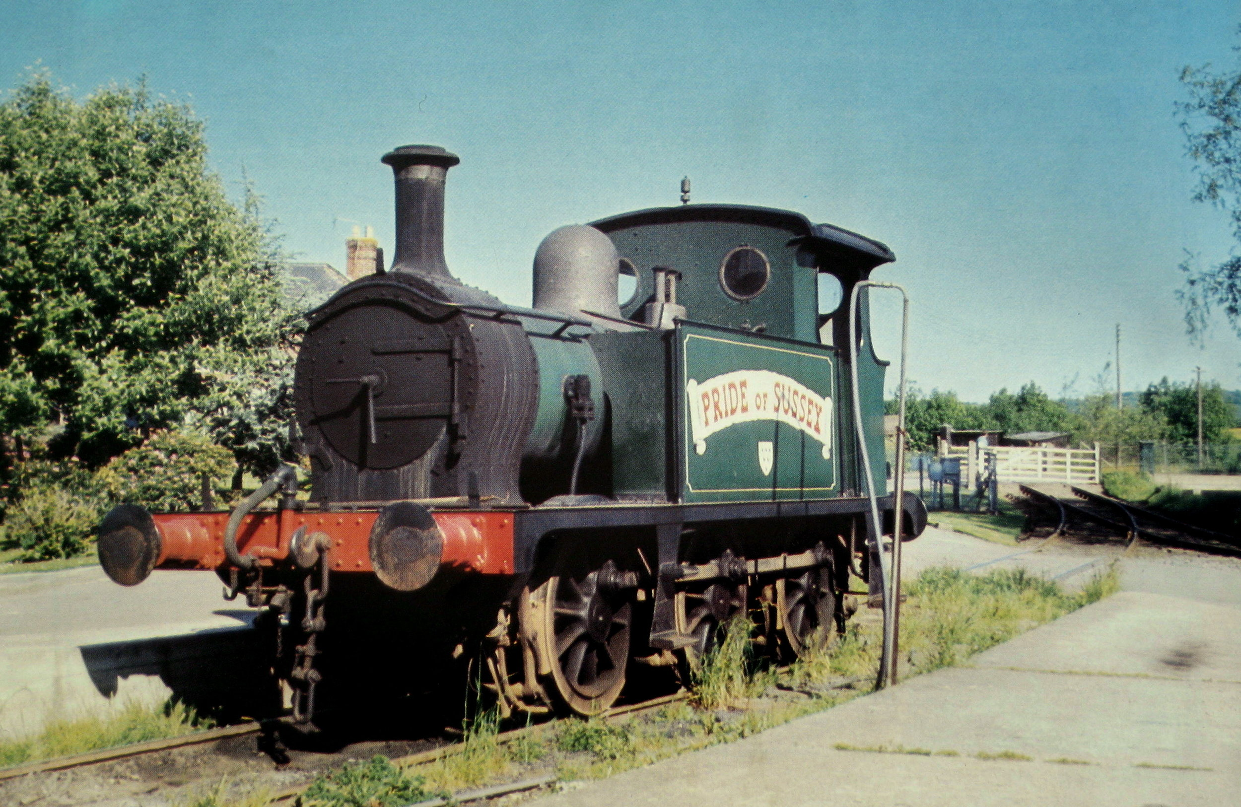 SECR 'P' Class 0-6-0T Pride of Sussex at Robertsbridge (KA JAGGER)