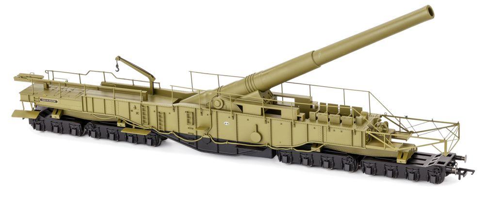 Oxford Rail railway gun Gladiator