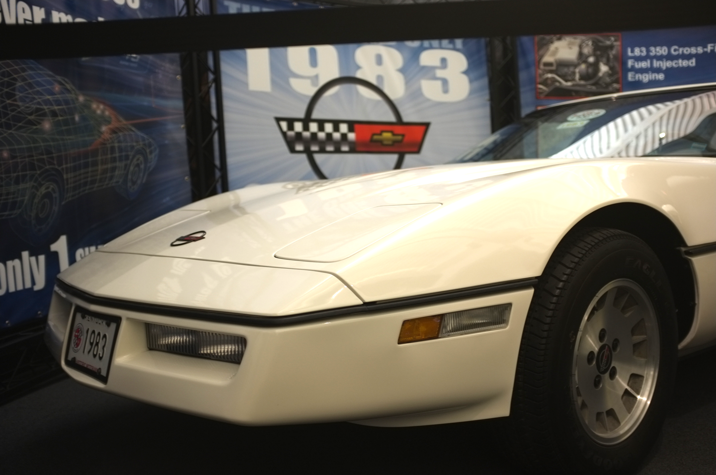 Sole survivor: the only example of the aborted 1983 Corvette production line