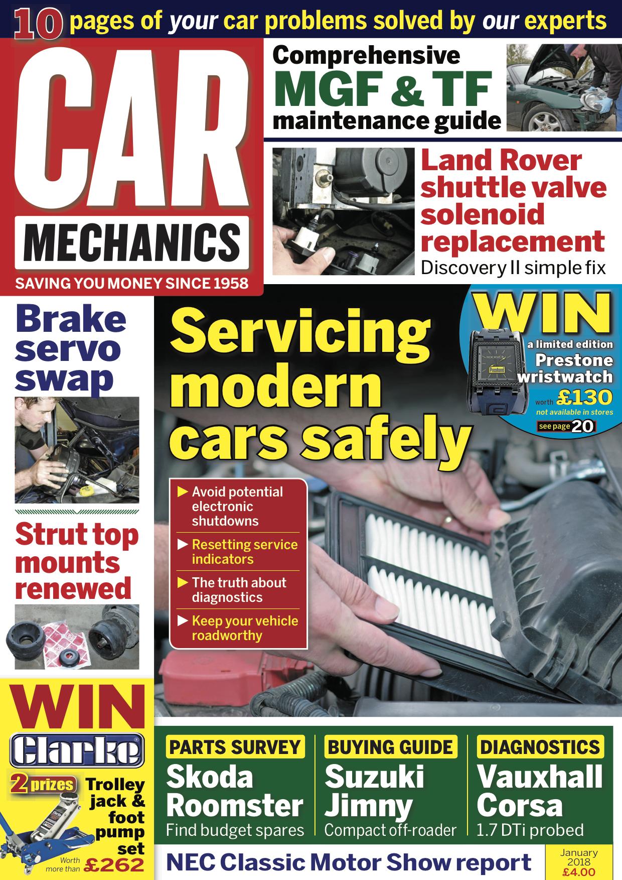 January 2018 Car Mechanics