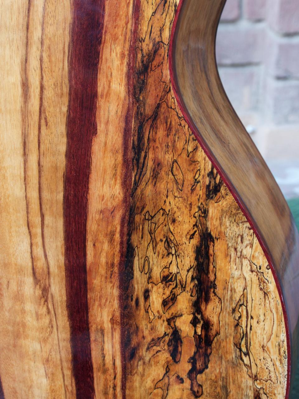 Spalted Tamarind & Cedar OM